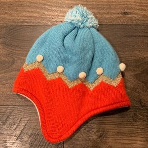 Mini Boden New With Tags Pom Hat XS